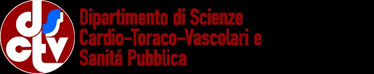 Logo of Dipartimento di Scienze Cardio-Toraco-Vascolari e Sanitá Pubblica